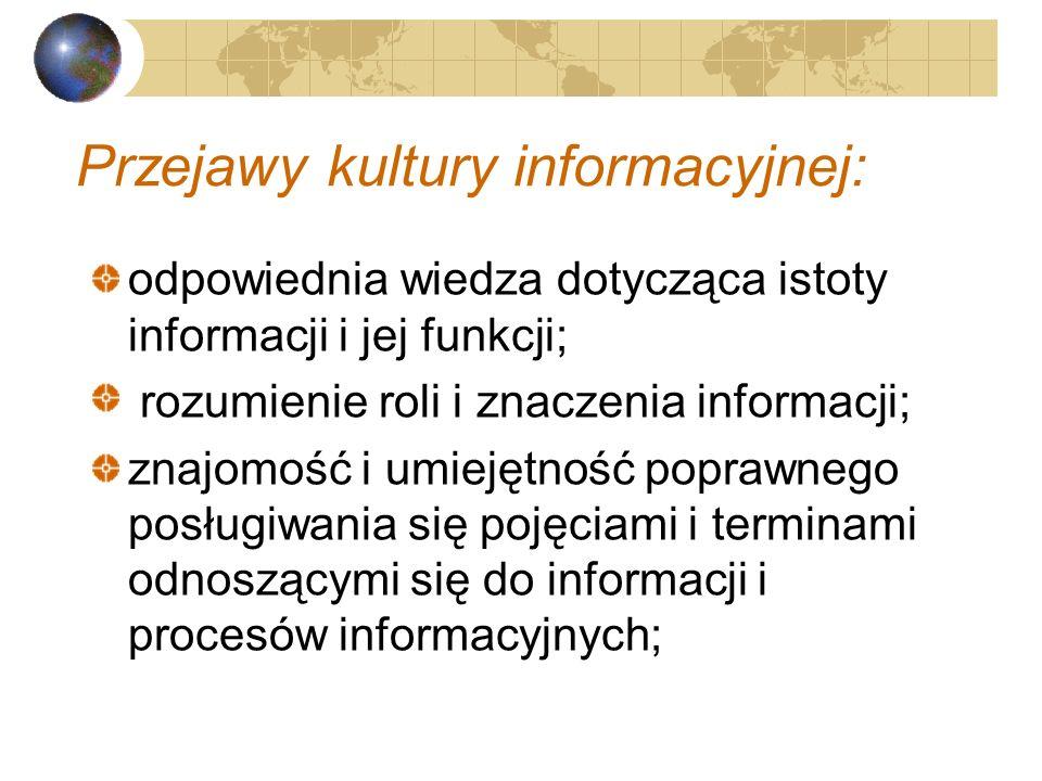 Najwłaściwszym sposobem obrony przed chorobami informacyjnymi oraz walką z uzależnieniami jest profilaktyka (informacyjna), którą zapewnia właściwa ku