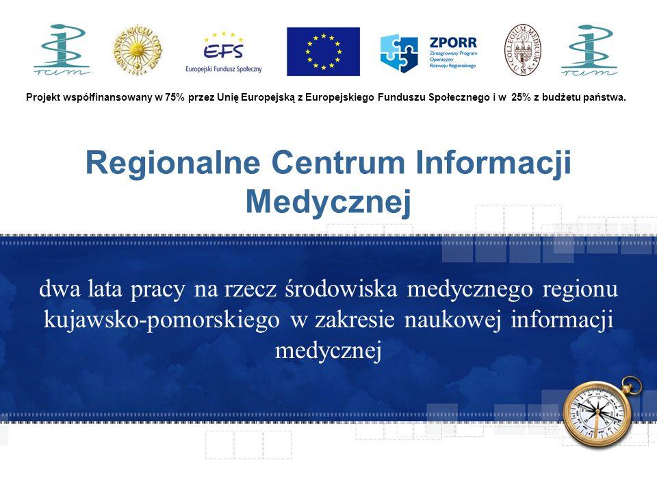 Projekt współfinansowany w 75% przez Unię Europejską z Europejskiego Funduszu Społecznego i w 25% z budżetu państwa.