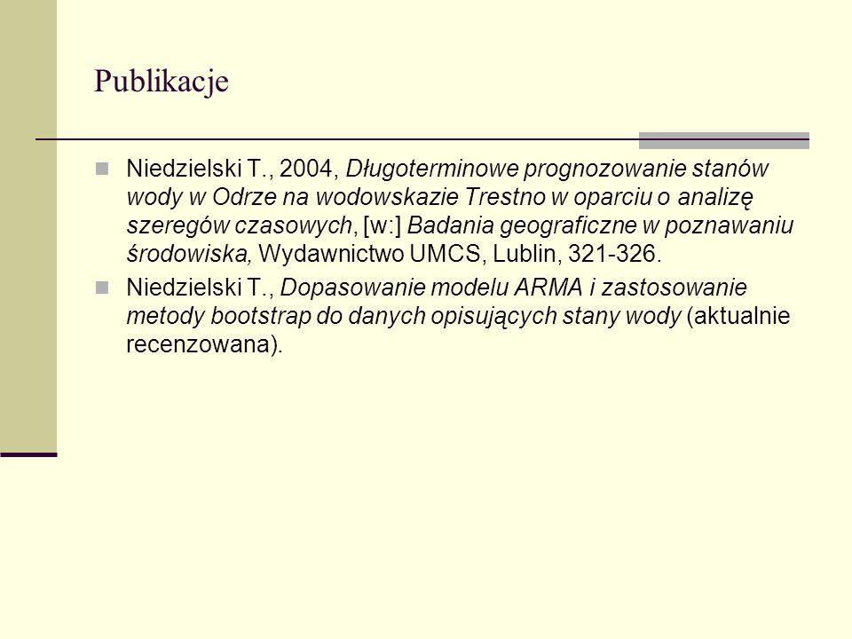Prezentacja 1.Wiadomości wstępne i przygotowanie danych 2.