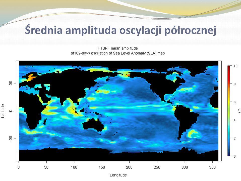 Poprawki do zmian poziomu oceanu ze względu na ruch geocentrum wyznaczone z danych modelowych współrzędnych środka mas Ziemi obliczonych metodą wavelet based semblance filtering dla progu obcięcia semblancji 0.90