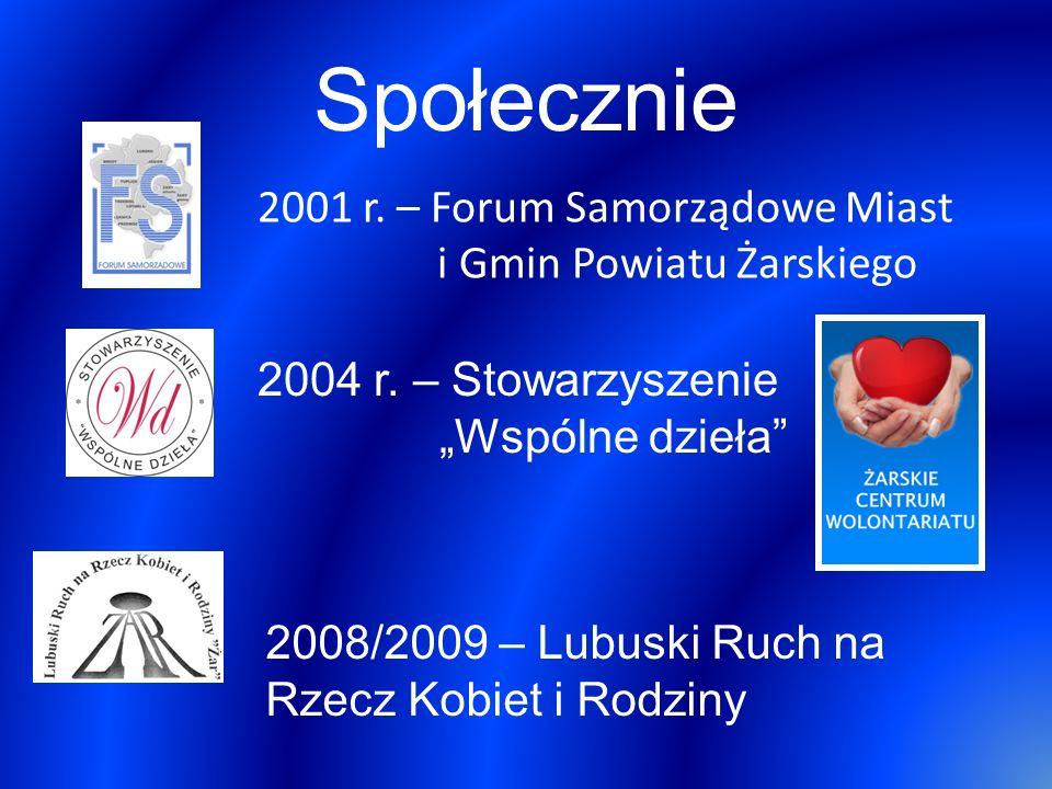 Działalność samorządowa 2002 r.
