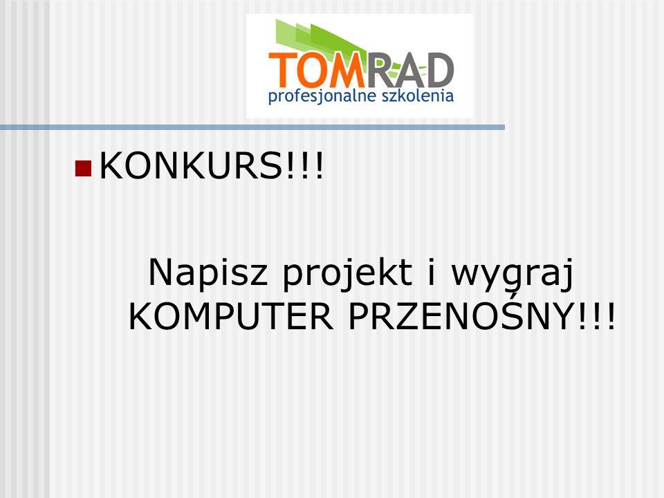 KONKURS!!! Napisz projekt i wygraj KOMPUTER PRZENOŚNY!!!