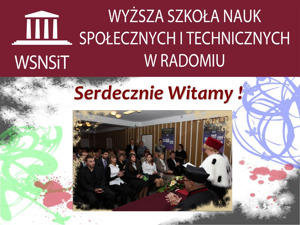Projekt UE – STUDIA ZA DARMO W WSNSiT.WSNSiT wygrała w 2009 r.
