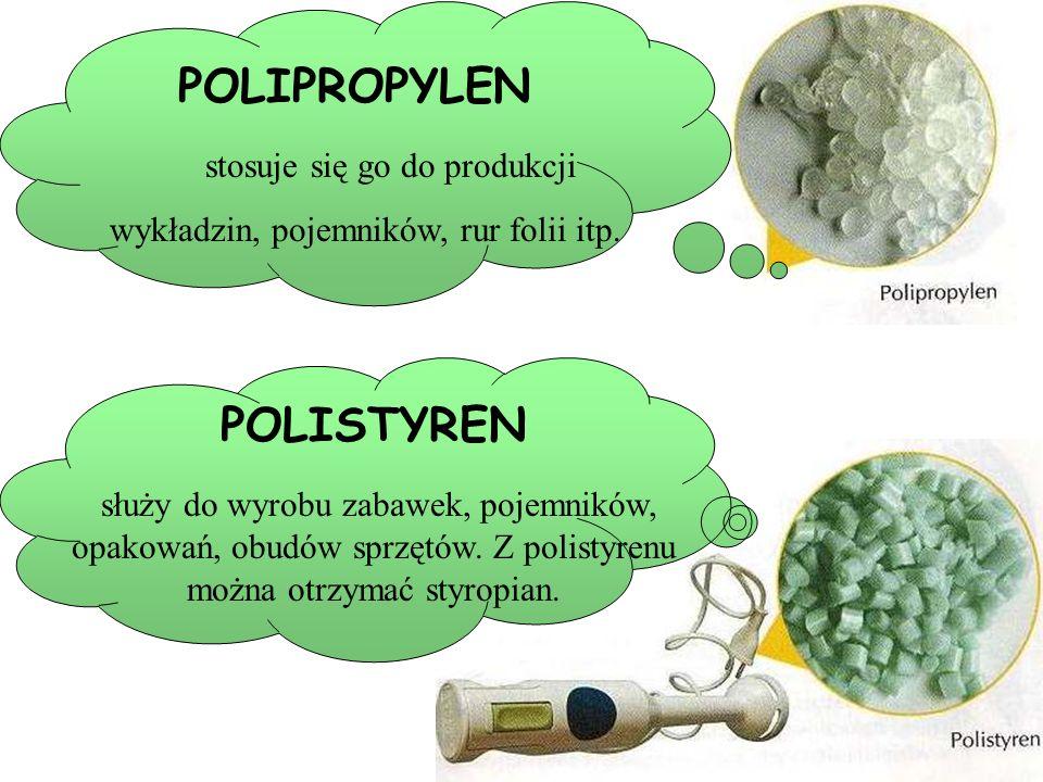 Tworzywa są to organiczne plastyczne, substancje wielkocząstkowe powstałe między innymi w reakcjach polimeryzacji węglowodorów nienasyconych. Tworzywa