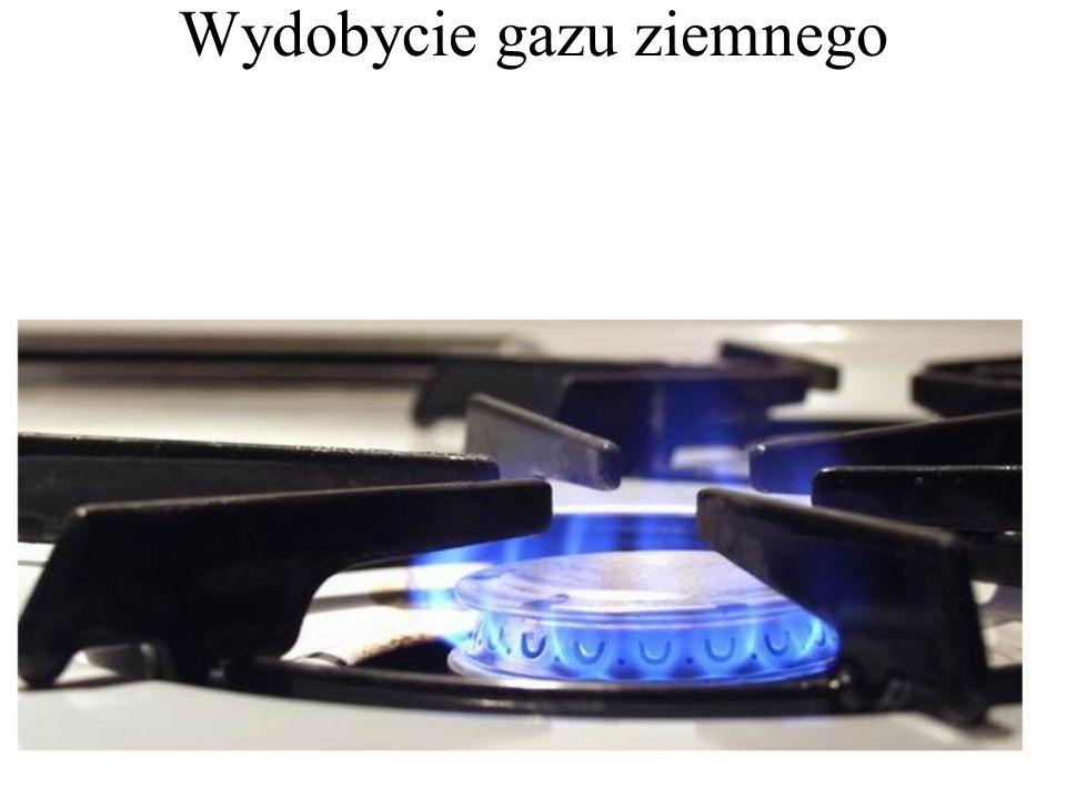 Wydobycie gazu ziemnego