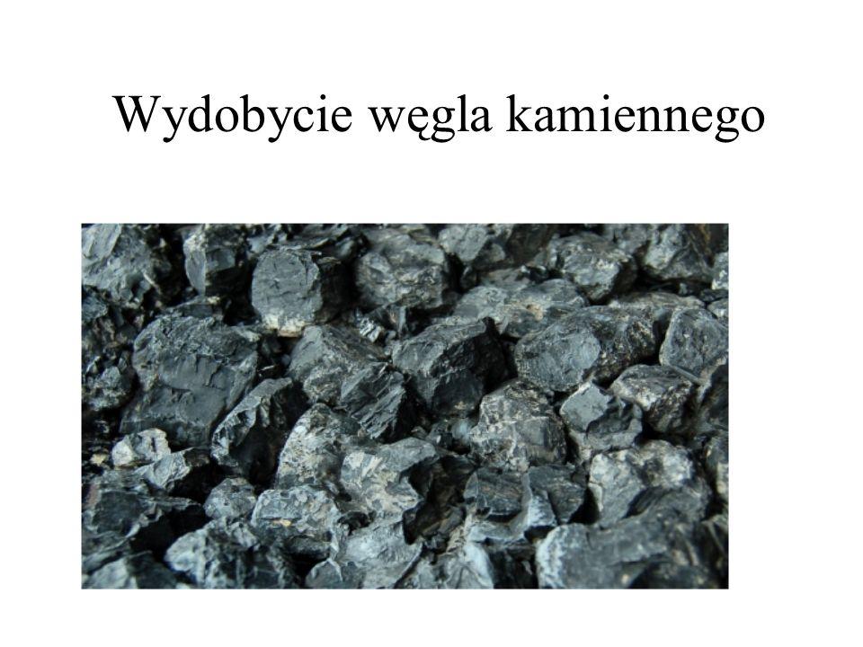 Wydobycie węgla kamiennego