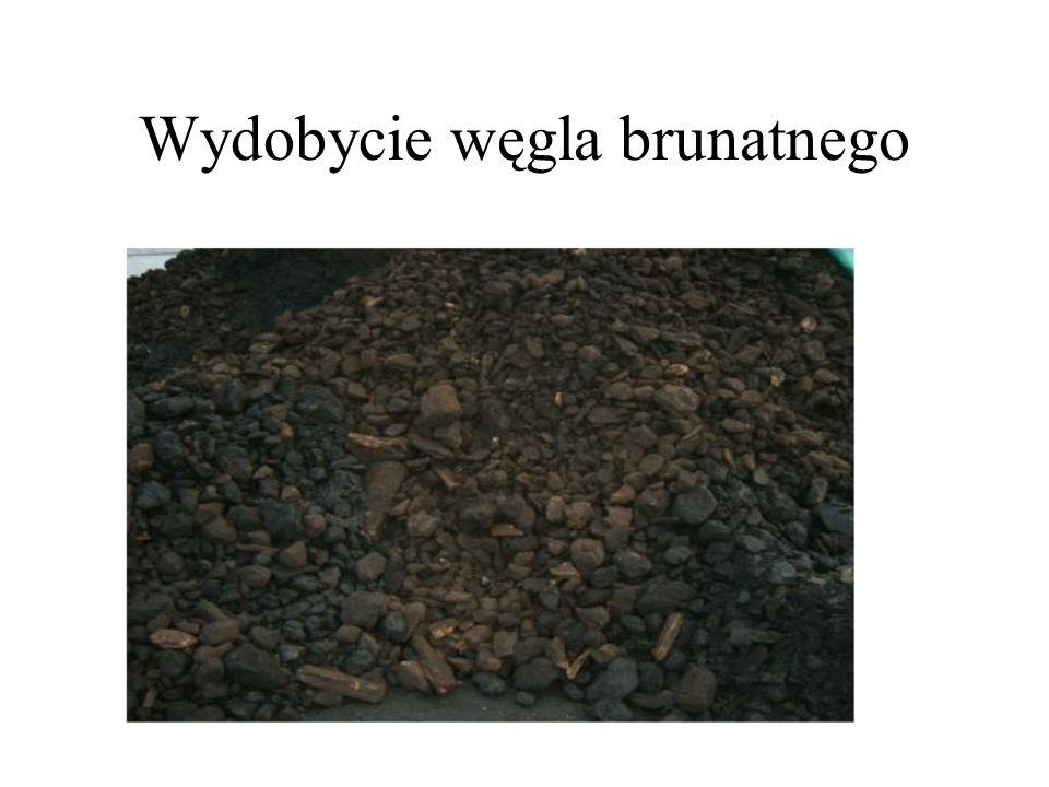 Wydobycie węgla brunatnego