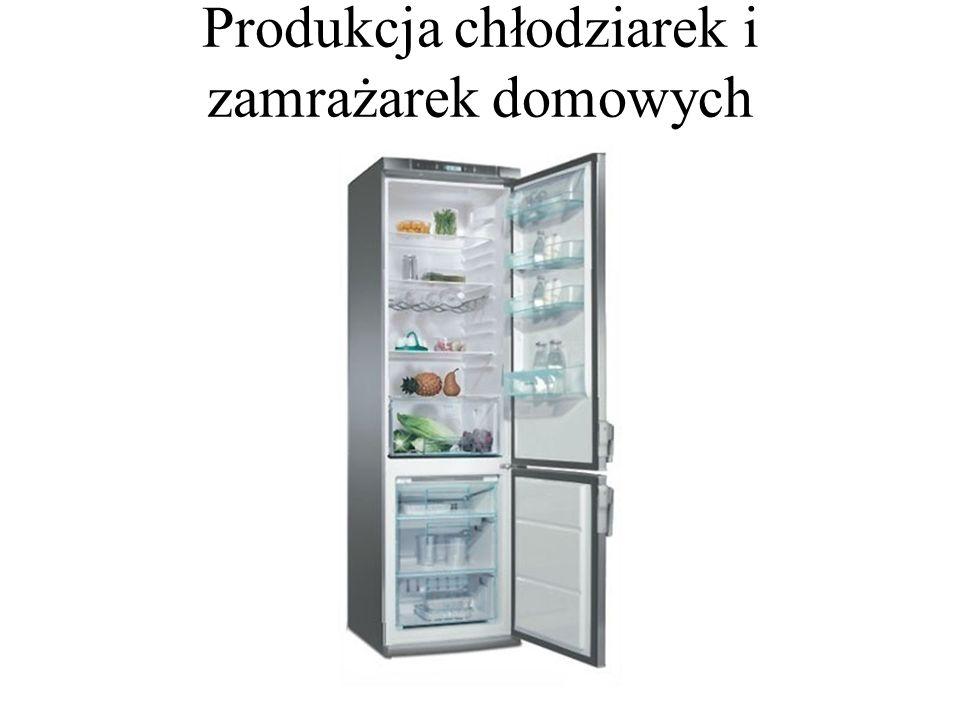 Produkcja chłodziarek i zamrażarek domowych