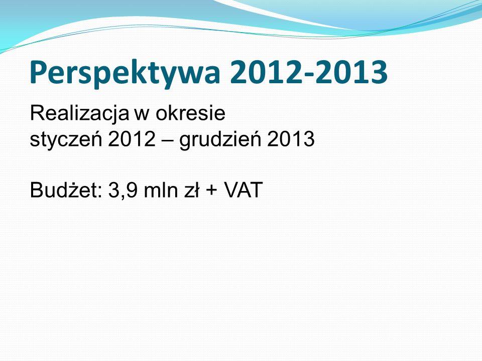 Realizacja nowego Planu Działania KSOW w okresie styczeń 2014 – czerwiec 2015 Budżet 2014 – 2,3 mln zł Budżet 2015 – 1,1 mln zł ----------------------------------------- 3,4 mln zł + VAT Perspektywa 2014-2015