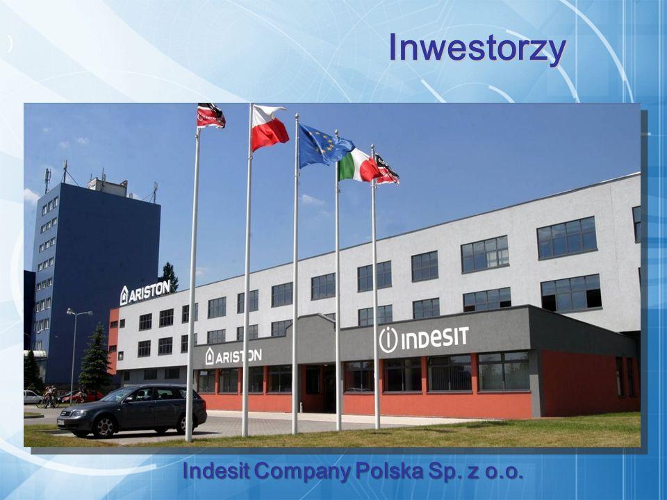 ) Inwestorzy Indesit Company Polska Sp. z o.o.