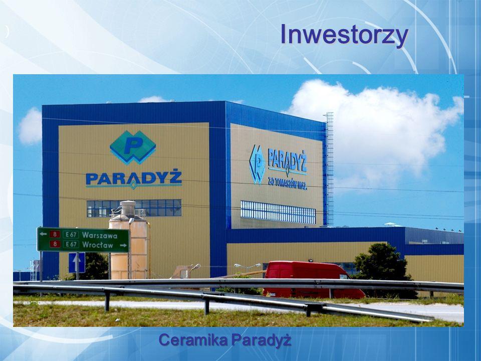 ) Ceramika Paradyż Ceramika Paradyż Inwestorzy