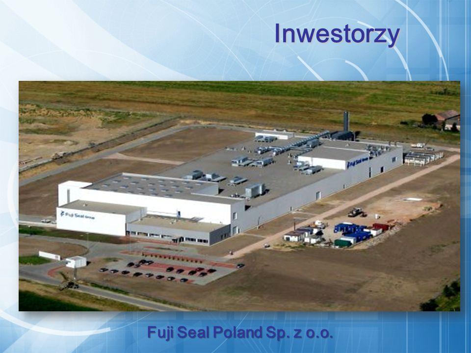 Fuji Seal Poland Sp. z o.o. Inwestorzy