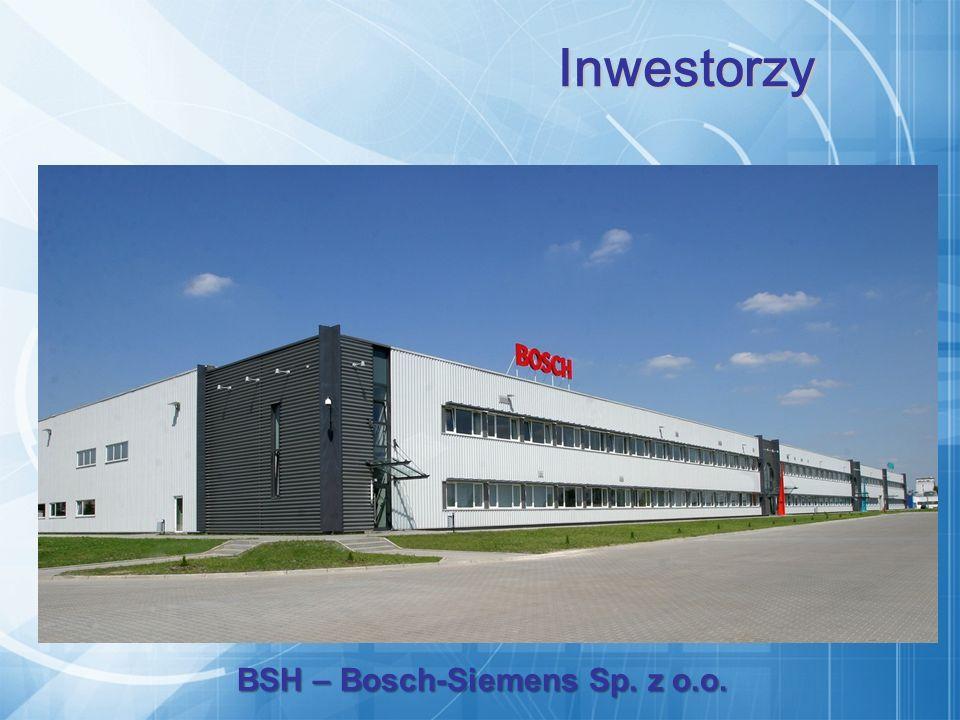 BSH – Bosch-Siemens Sp. z o.o. Inwestorzy