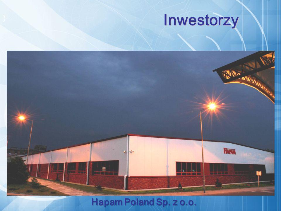) Hapam Poland Sp. z o.o. Inwestorzy