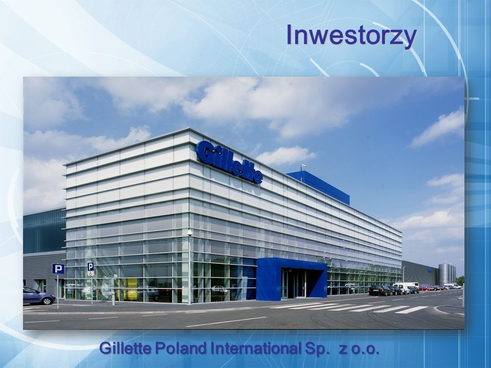 Gillette Poland International Sp. z o.o. Inwestorzy