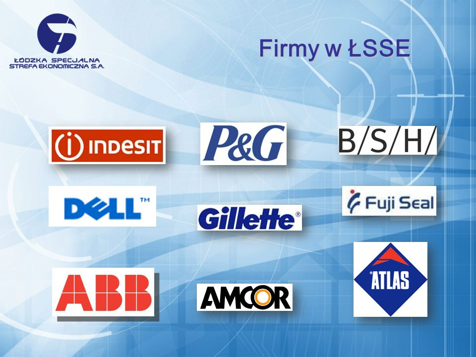 Firmy w ŁSSE