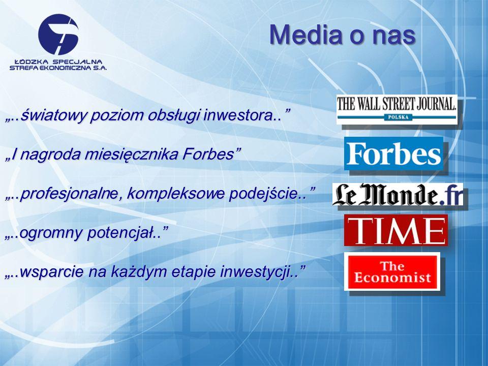 .. światowy poziom obsługi inwestora.... światowy poziom obsługi inwestora..