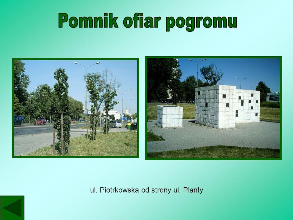 ul. Piotrkowska od strony ul. Planty