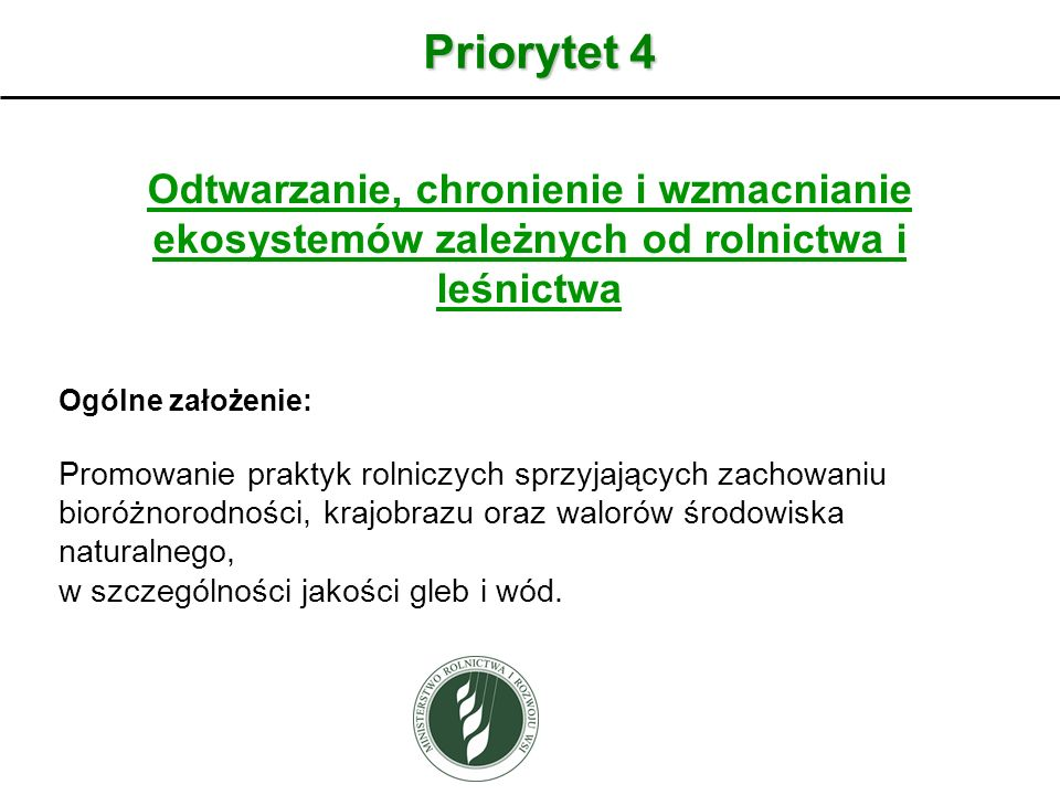 Wariant Program rolnośrodowiskowo-klimatyczny 2014- 2020 Wariant 4.2.