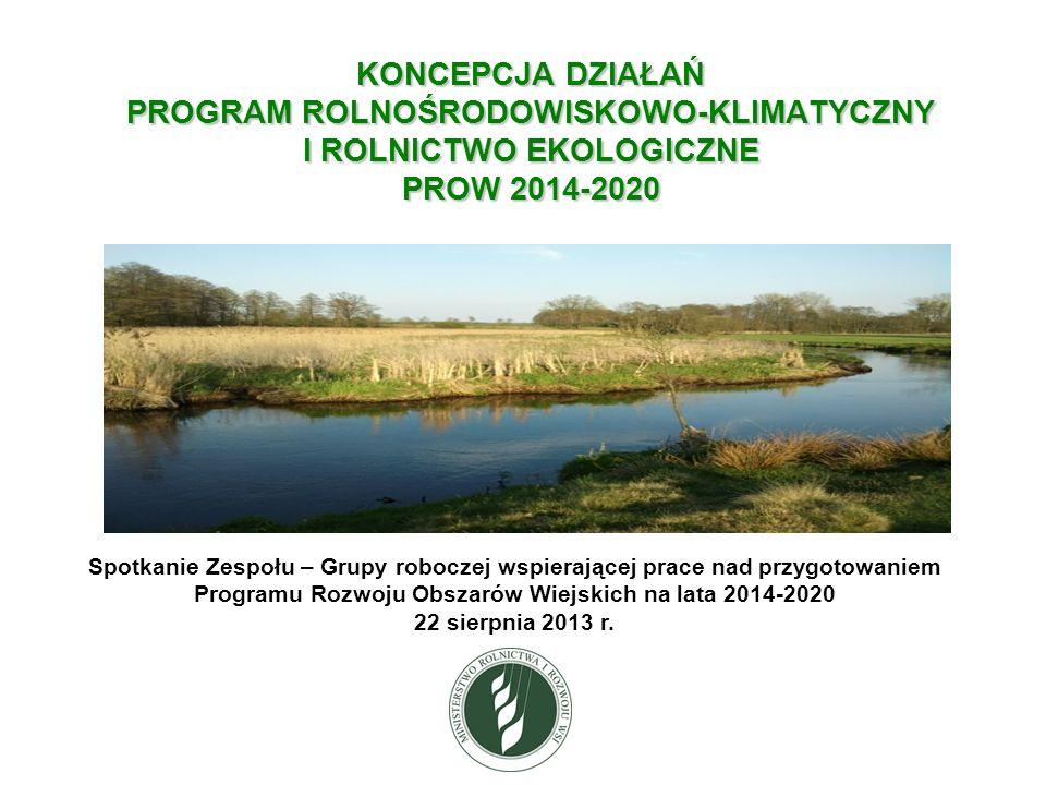Wariant Program rolnośrodowiskowo-klimatyczny 2014- 2020 Wariant 5.4.