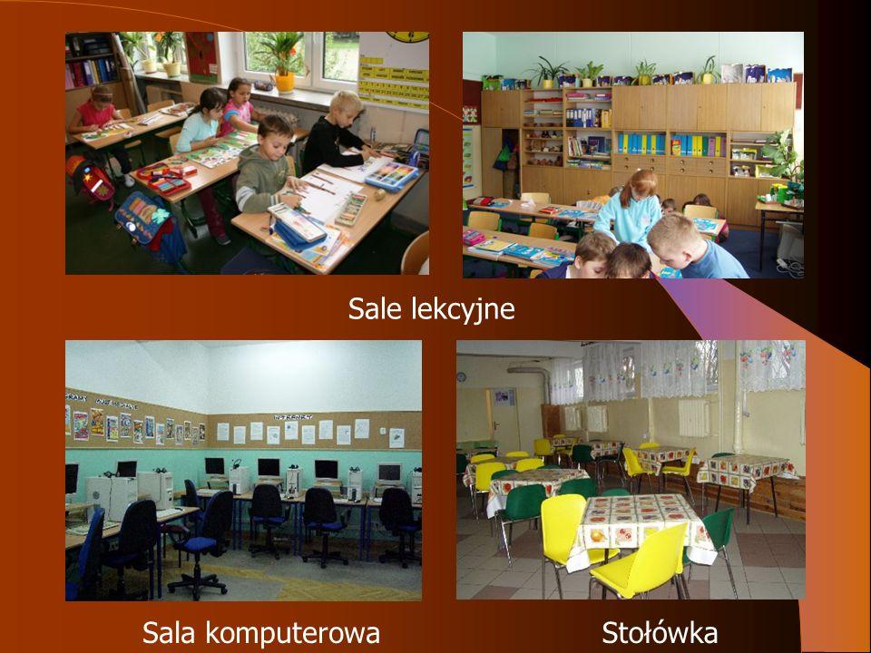 Sale lekcyjne Sala komputerowaStołówka