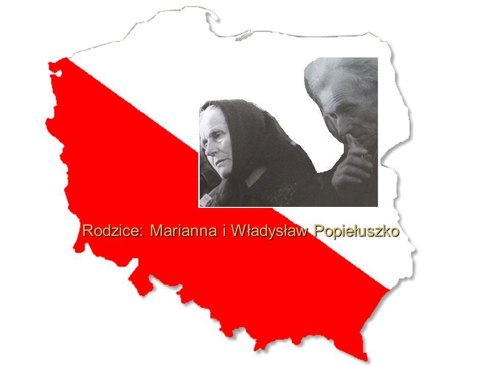 Rodzice: Marianna i Władysław Popiełuszko