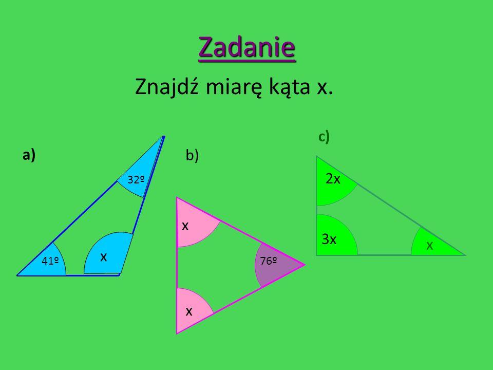 Własności trójkąta