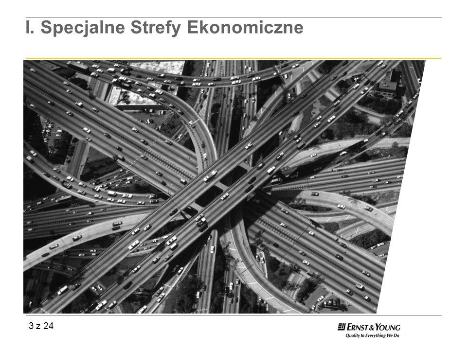 3 z 24 I. Specjalne Strefy Ekonomiczne