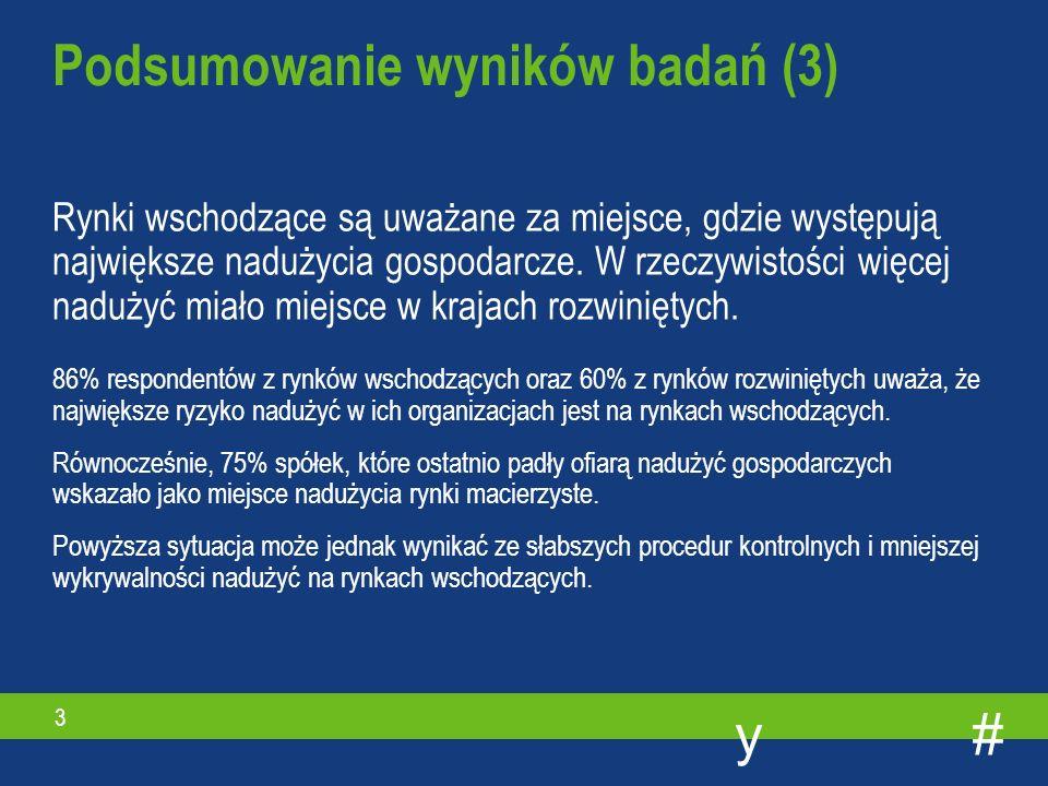 #y 3 Rynki wschodzące są uważane za miejsce, gdzie występują największe nadużycia gospodarcze.