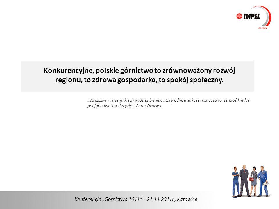 Konkurencyjne, polskie górnictwo to zrównoważony rozwój regionu, to zdrowa gospodarka, to spokój społeczny.
