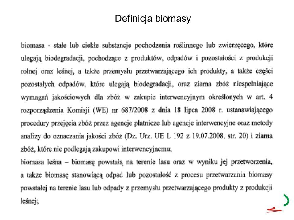 Surowce energetyczne pierwotne Surowce energetyczne wtórne Surowce energetyczne przetworzone Podział biomasy ze względu na stopień przetworzenia