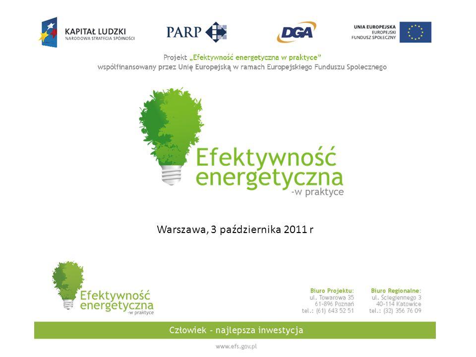 Warszawa, 3 października 2011 r