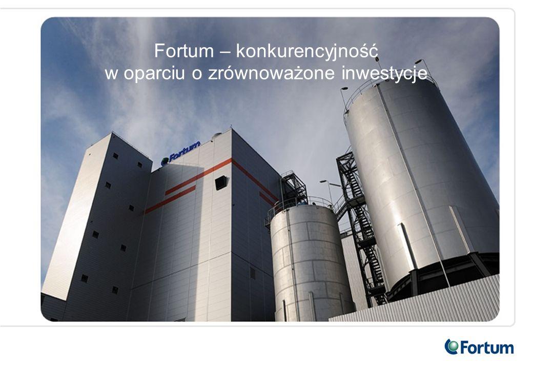 12 Fortum w Polsce Fortum w Polsce świadczy konkurencyjne usługi w zakresie produkcji i dystrybucji ciepła, a także eksploatacji i modernizacji mocy produkcyjnych.