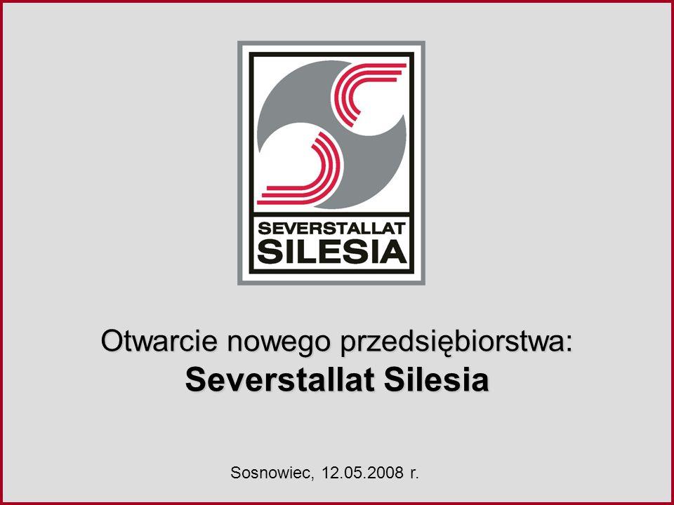 Otwarcie nowego przedsiębiorstwa: Severstallat Silesia Sosnowiec, 12.05.2008 r.