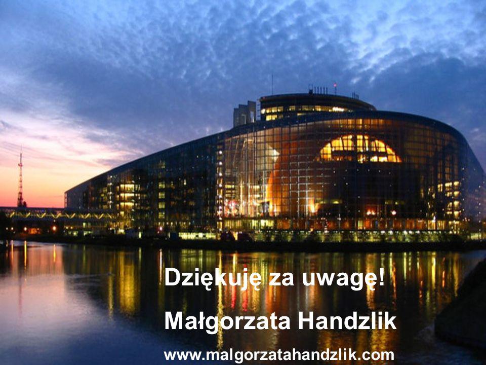 Małgorzata Handzlik www.malgorzatahandzlik.com 10 Dziękuję za uwagę.