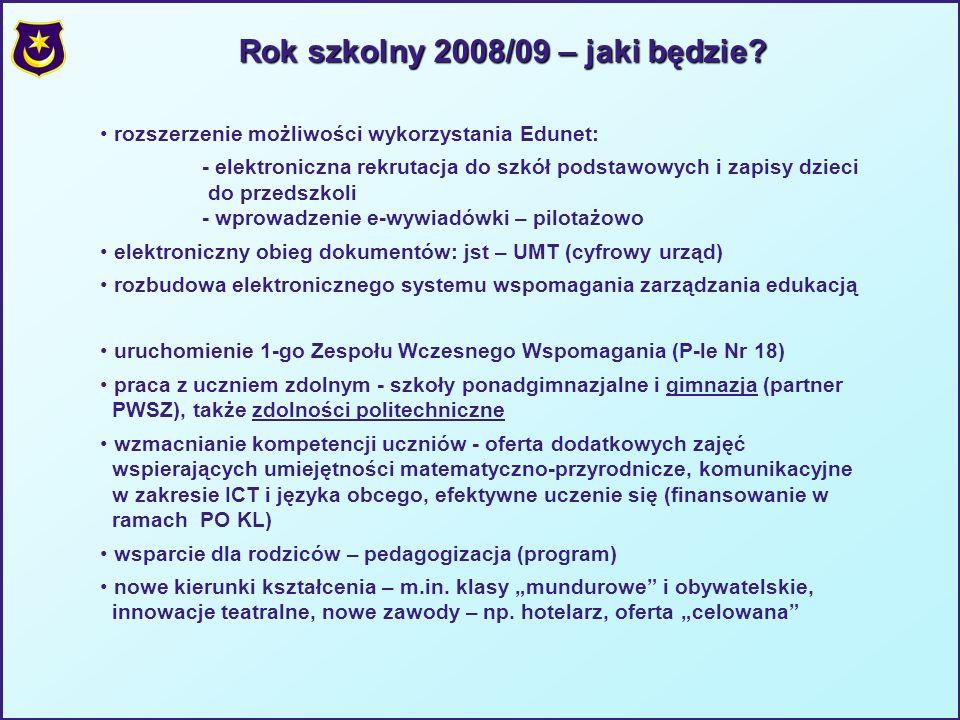 Rok szkolny 2008/09 – jaki będzie.