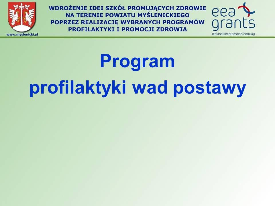 Program profilaktyki wad postawy