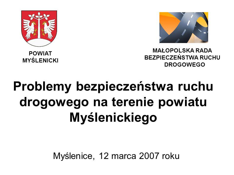 Zestawienie porównawcze miejscowych zagrożeń (MZ) powstałych na terenie powiatu myślenickiego w rozbiciu na gminy za lata 2005 i 2006 Lp.Gminy Ilość MZ 2005 r.