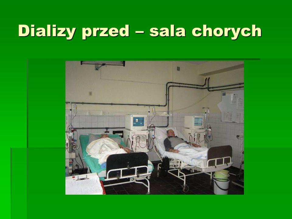 Dializy przed – sala chorych