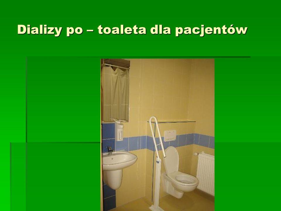 Dializy po – toaleta dla pacjentów