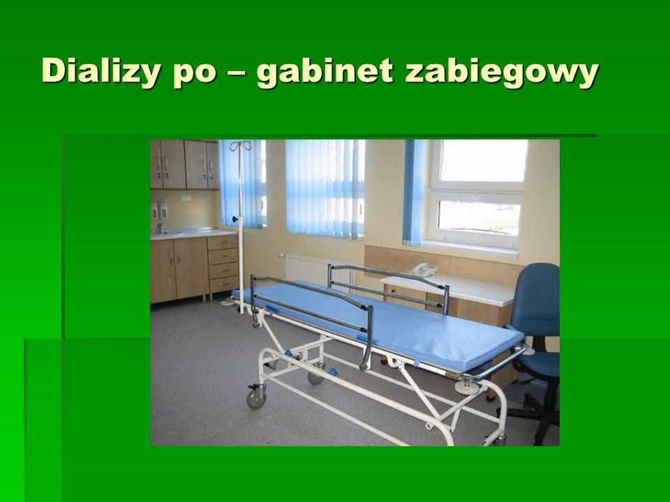 Dializy po – gabinet zabiegowy
