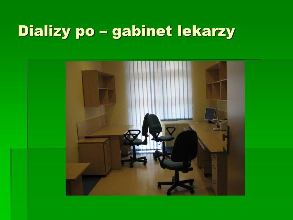 Dializy po – gabinet lekarzy