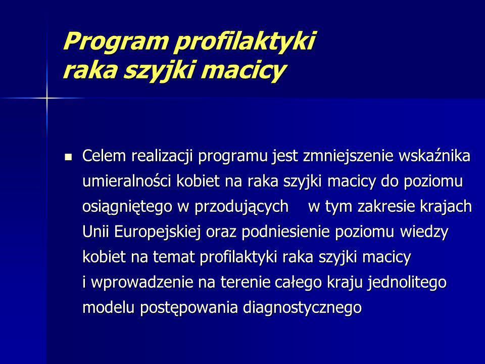 Program badań prenatalnych Celem programu jest umożliwienie wczesnej identyfikacji ryzyka wad i wczesne rozpoznanie wad płodu, zwiększenie dostępności do badań prenatalnych w Polsce oraz wdrożenie systemu organizacyjnego badań prenatalnych w naszym kraju.