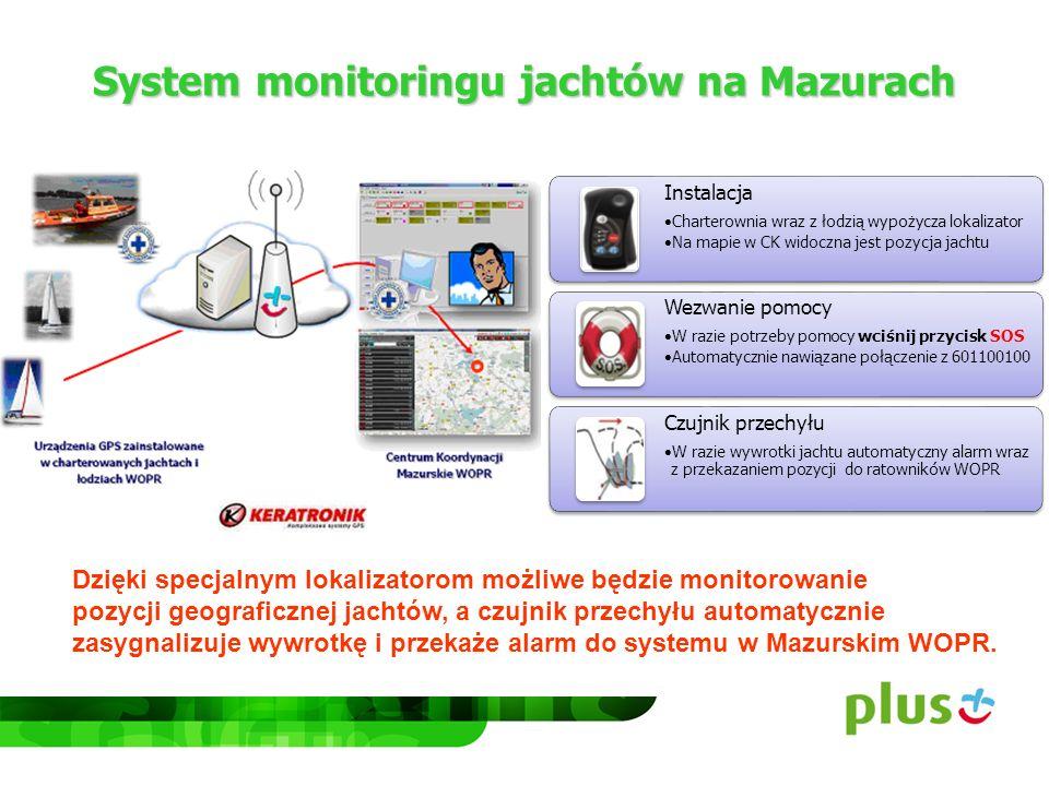 System monitoringu jachtów na Mazurach Dzięki specjalnym lokalizatorom możliwe będzie monitorowanie pozycji geograficznej jachtów, a czujnik przechyłu