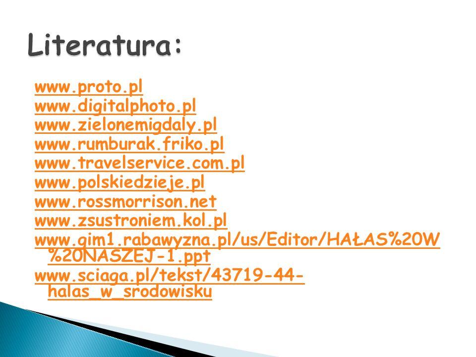 www.proto.pl www.digitalphoto.pl www.zielonemigdaly.pl www.rumburak.friko.pl www.travelservice.com.pl www.polskiedzieje.pl www.rossmorrison.net www.zs