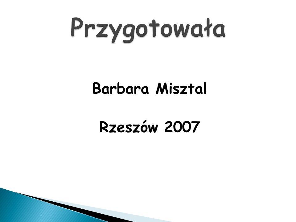Barbara Misztal Rzeszów 2007