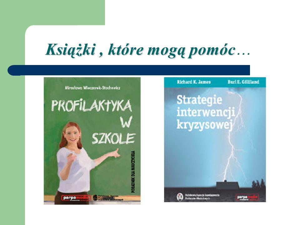 Książki, które mogą pomóc Książki, które mogą pomóc …