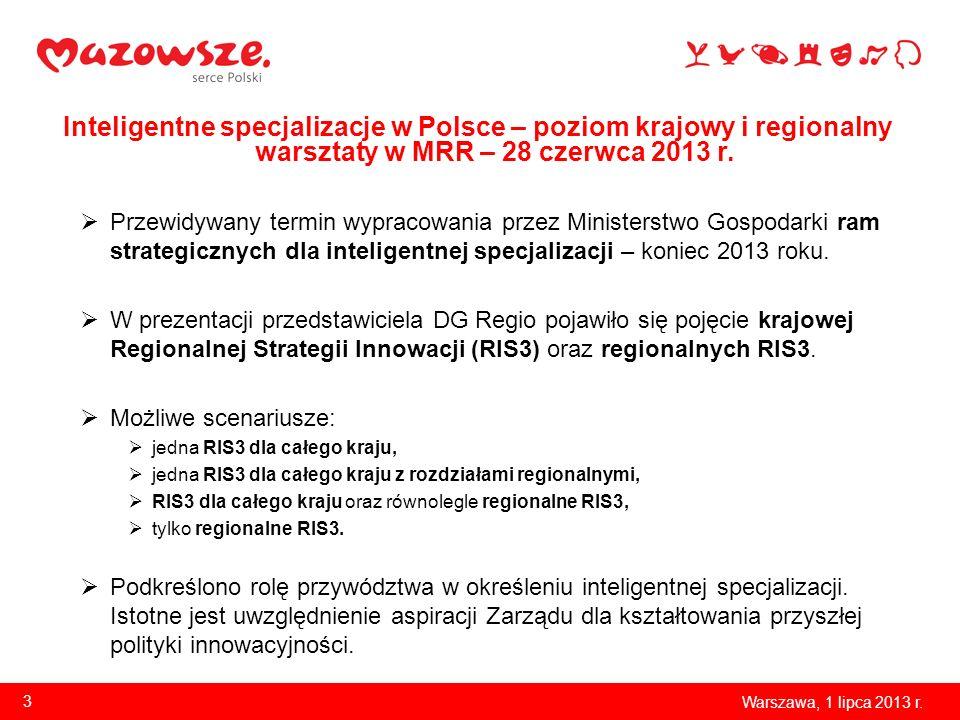 Dziękuję malgorzata.rudnicka@mazovia.pl rsi@mazovia.pl www.innowacyjni.mazovia.pl www.msodi.mazovia.pl Warszawa, 1 lipca 2013 r.