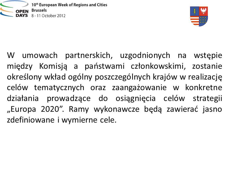 W umowach partnerskich, uzgodnionych na wstępie między Komisją a państwami członkowskimi, zostanie określony wkład ogólny poszczególnych krajów w real