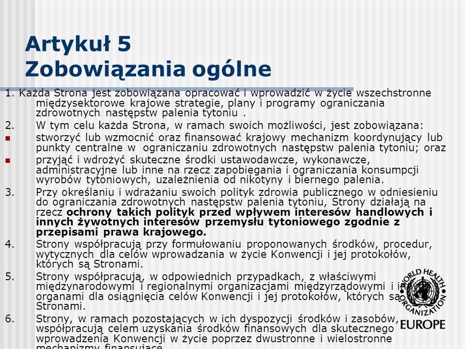 Artykuł 5.3 Wskazówki/ guidelines Wdrożenie wskazówek z art..